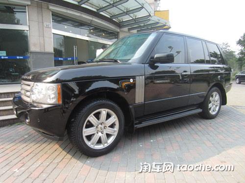 2007款路虎揽胜(进口) V8售价74.90万元