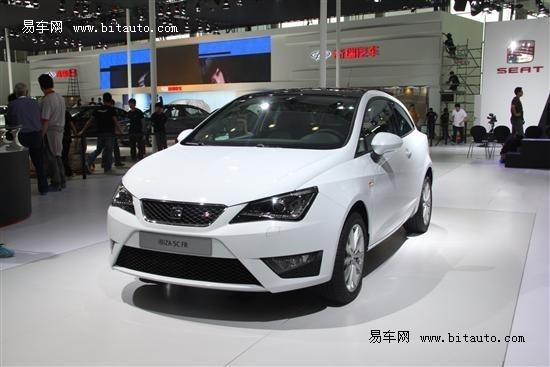 2012广州车展探馆 西亚特Ibiza SC三门版