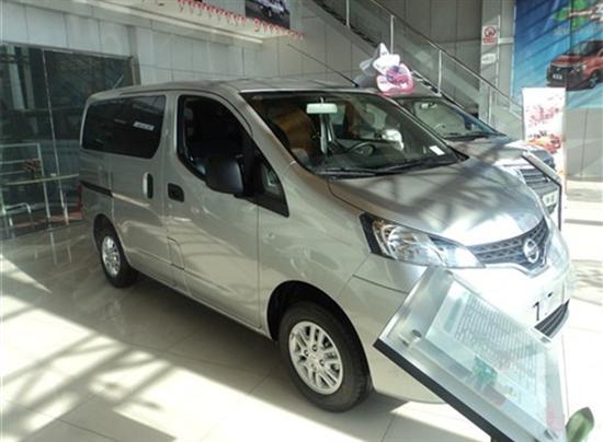 2013款郑州日产NV200到店 接受预订
