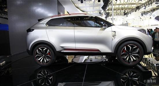 MG CS亮相上海 纯正英系前沿设计深受瞩目