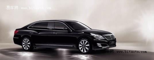 现代汽车 进口现代 加长版雅科仕 equus 交通工具 高清图片