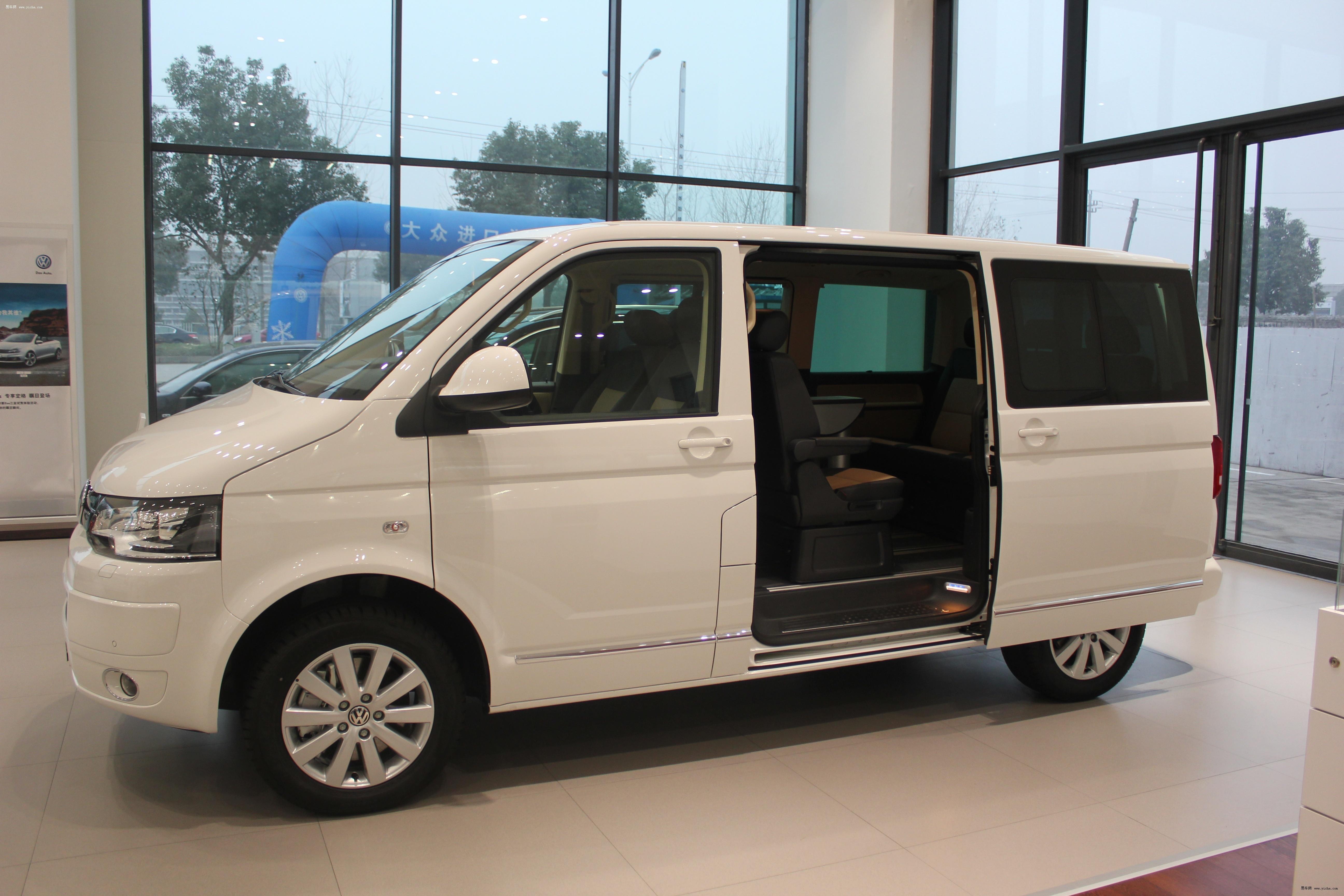 大众multivan t5有白色现车订金2万