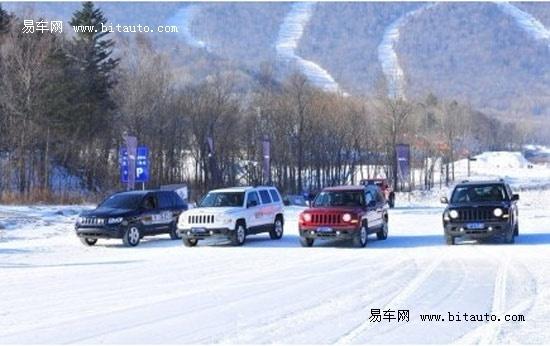 雪赛道,我们来了!   的畅快感受.作为jeep?指南者的代言人,影高清图片