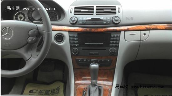 08款奔驰E200 1.8L优雅型售价25万元