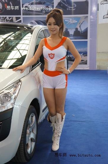 秒杀菲林 2012上海国庆车展车模集 一