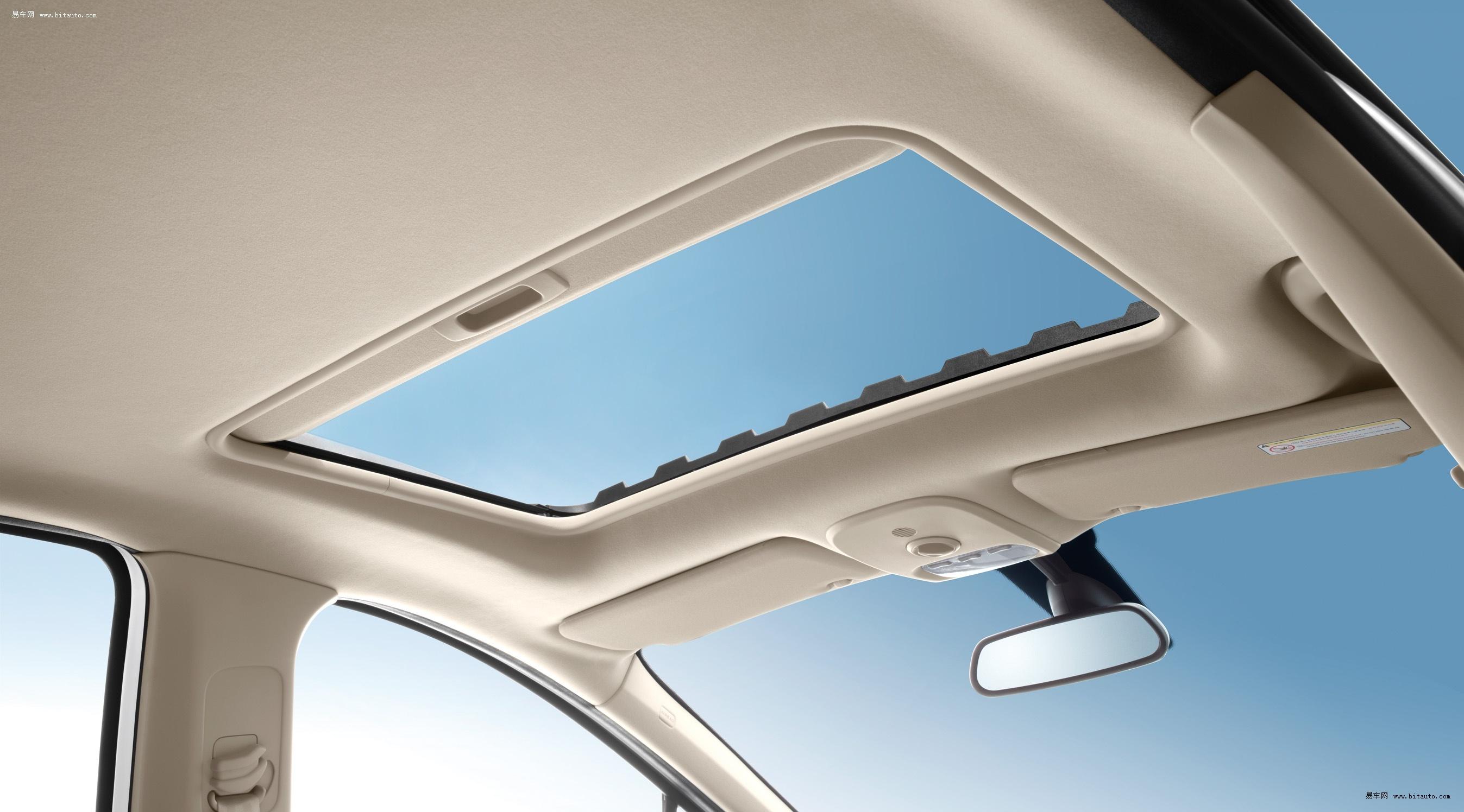 车天窗结构
