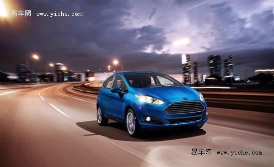造型更加运动 2014款福特嘉年华海外发布高清图片