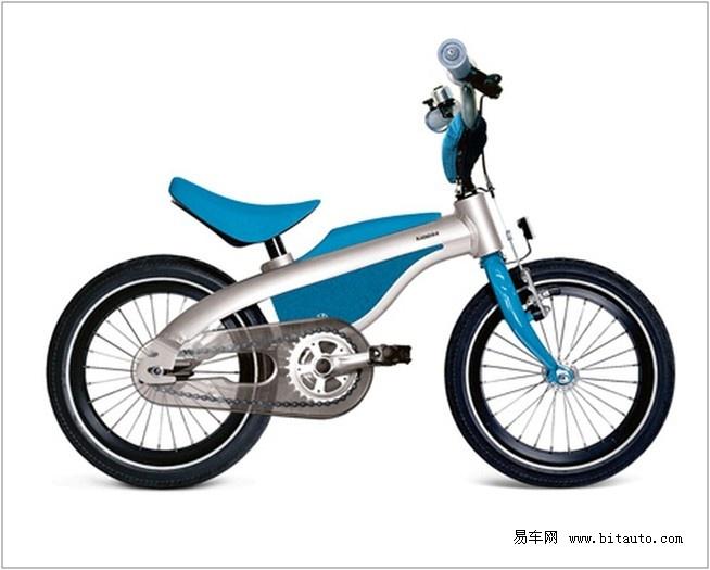 适合教会儿童如何在不安装稳定架的情况下骑乘自行车