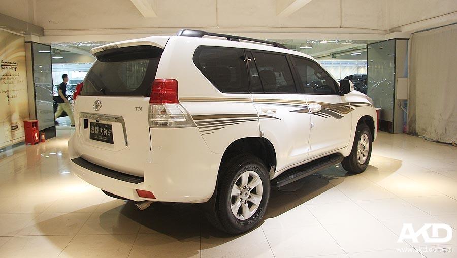 白色2011年二手丰田霸道2700 一口39.8万