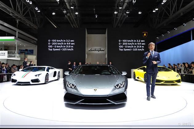 2014北京车展 兰博基尼Huracan亚洲首发
