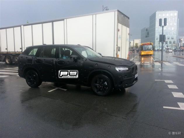 全新沃尔沃XC90换代车型2015年有望上市