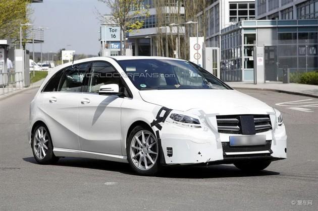 奔驰改款B级或巴黎车展亮相 配置升级