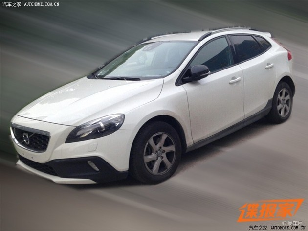 沃尔沃V40CrossCountry1.6T谍照曝光