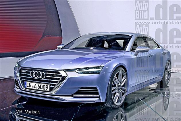 奥迪全新A6假想图曝光 预计2016年发布