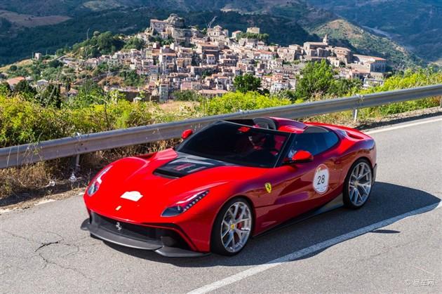 法拉利F12 TRS正式发布 外形设计独特
