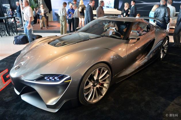 丰田发布两款FT-1概念车 亮相圆石滩