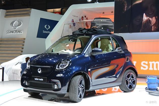 2014巴黎车展探馆 全新smart实车