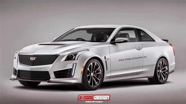 凯迪拉克全新CTS-V Coupe假想图曝光