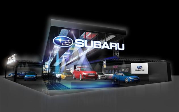 斯巴鲁将推三款概念车 东京改装车展亮相