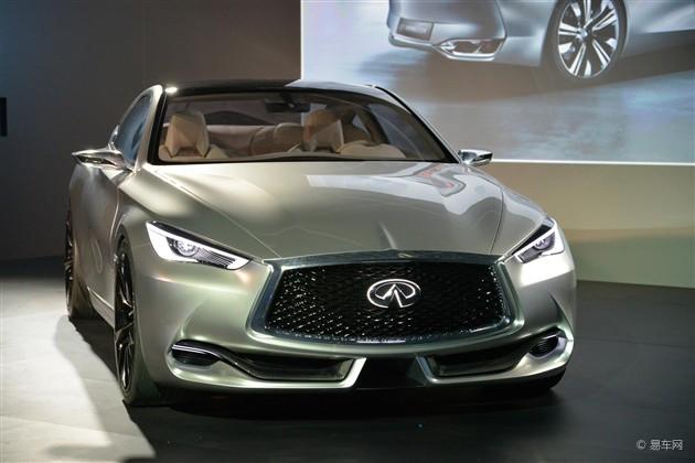 英菲尼迪Q60概念车北美车展首发 造型动感