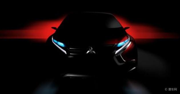 三菱新款概念车曝光 或将日内瓦车展亮相