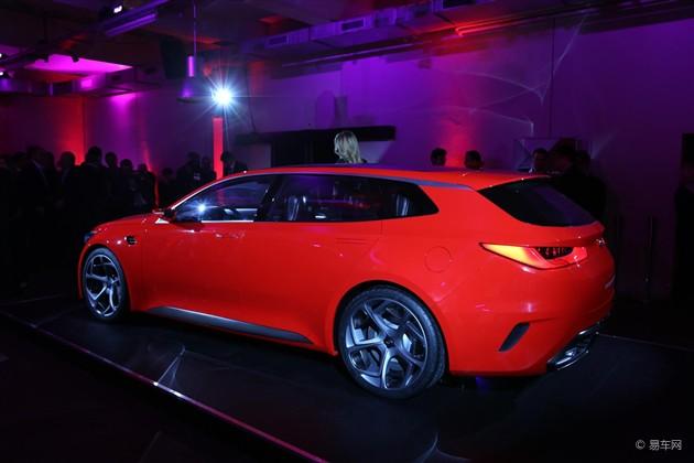日内瓦车展 起亚SPORTSPACE概念车发布