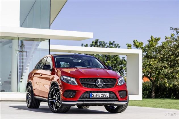 奔驰GLE Coupe正式投入生产 或下半年上市