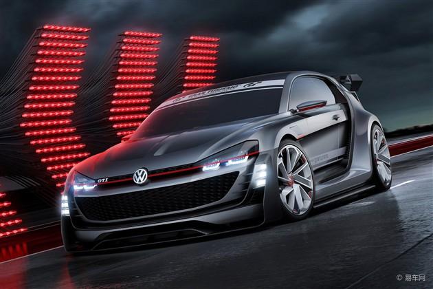 大众发布GTI Supersport Vision GT官图