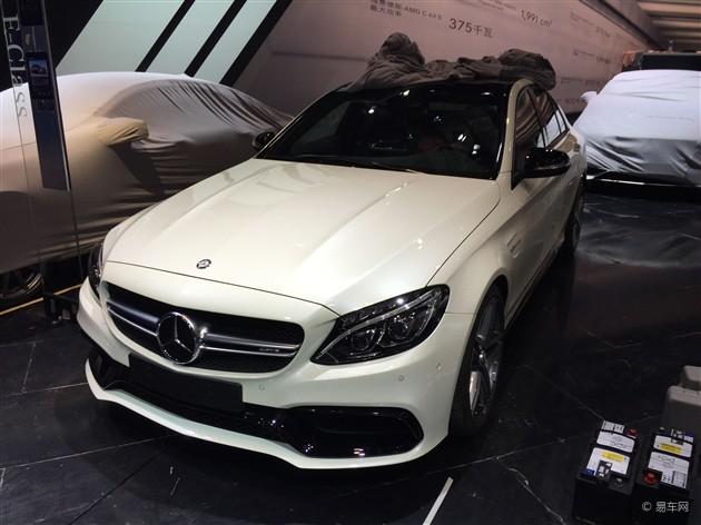 2015上海车展探馆 奔驰c63 amg现身 疑似奔驰c63高清图片