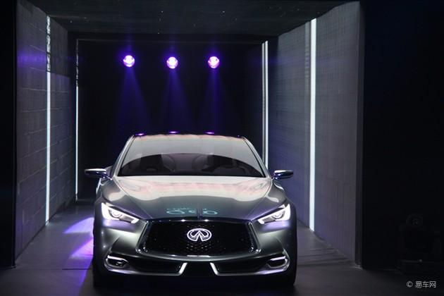 2015上海车展 英菲尼迪Q60概念车正式亮相