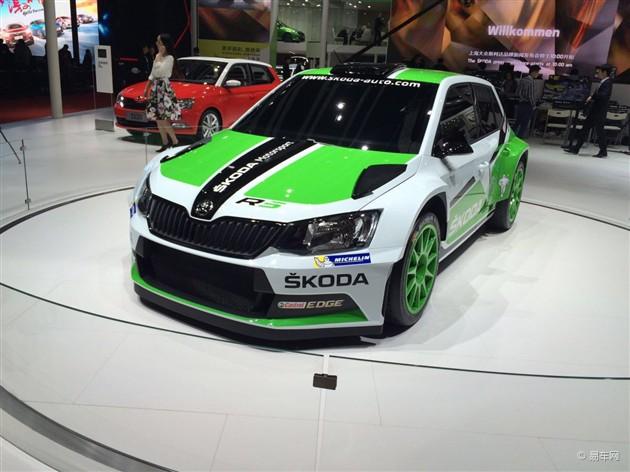 2015上海车展 斯柯达Fabia R5赛车发布