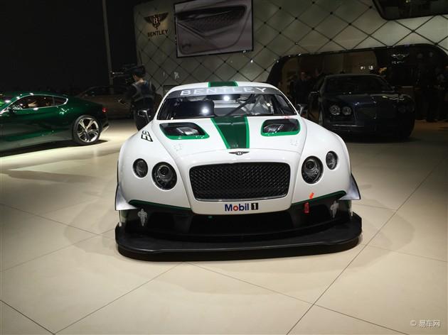2015上海车展 宾利欧陆GT3赛车亮相
