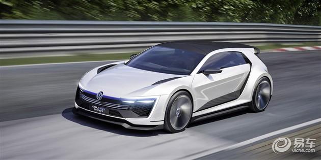 高尔夫GTE运动版概念车发布 搭载混合动力