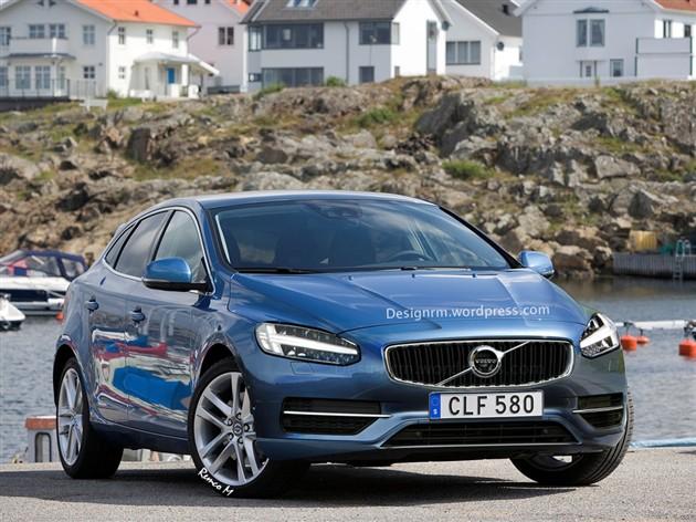 沃尔沃新V40将亮相日内瓦车展 或年内上市