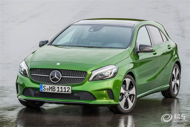 奔驰新款A级官图发布 外观小改/新增车型