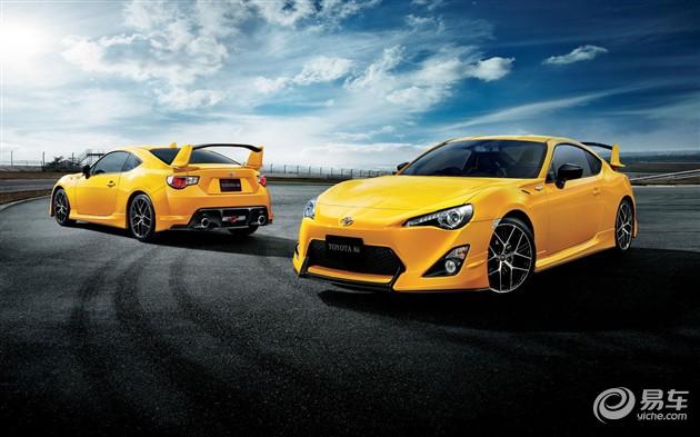 丰田推出 日落黄 主题限量版86车型高清图片