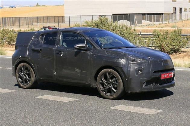 丰田入门级跨界SUV曝光 定位低于RAV4