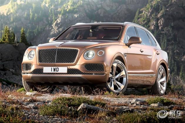 宾利首款SUV添越发布 10月国内首发