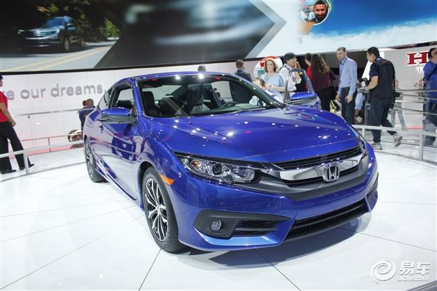 本田Civic Coupe将于2016年3月海外上市
