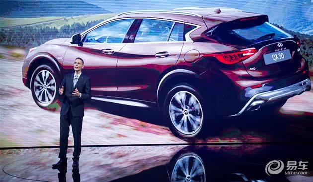 英菲尼迪首款紧凑型SUV QX30广州车展首发