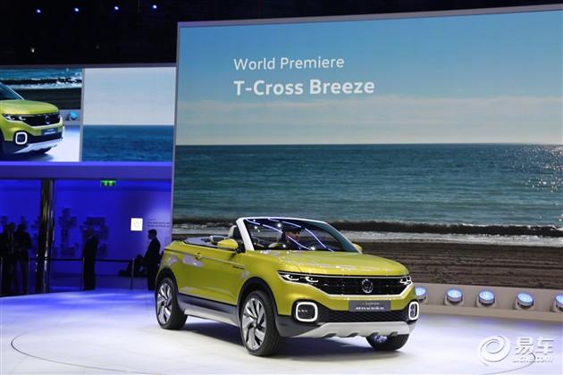 大众T-Cross Breeze概念车正式发布