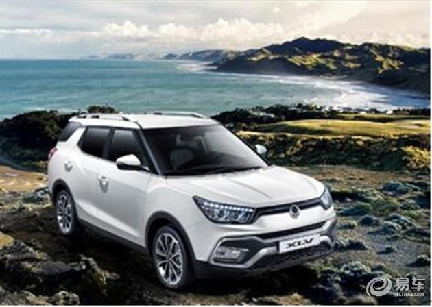 双龙途凌XLV将于2016北京车展正式上市