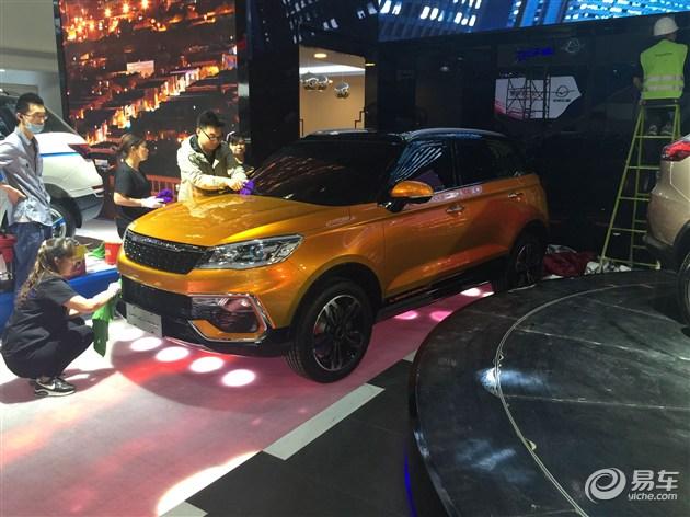 2016北京车展探馆 猎豹全新SUV CS9现身