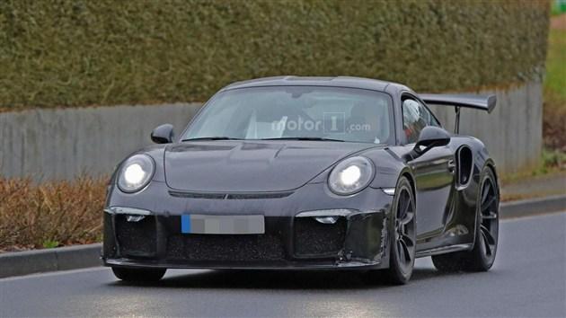 2017款保时捷911 GT3 RS谍照曝光