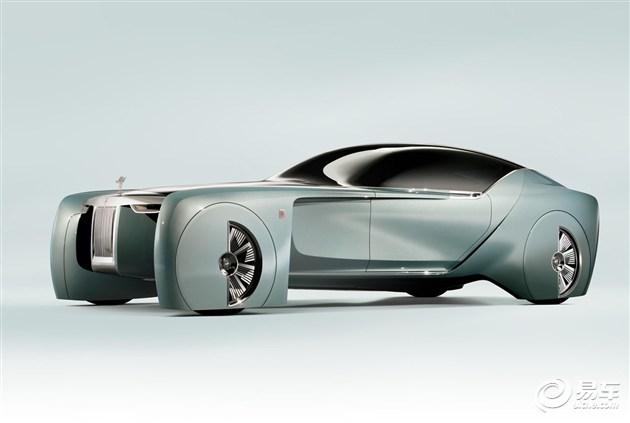 劳斯莱斯概念车发布 支持私人订制