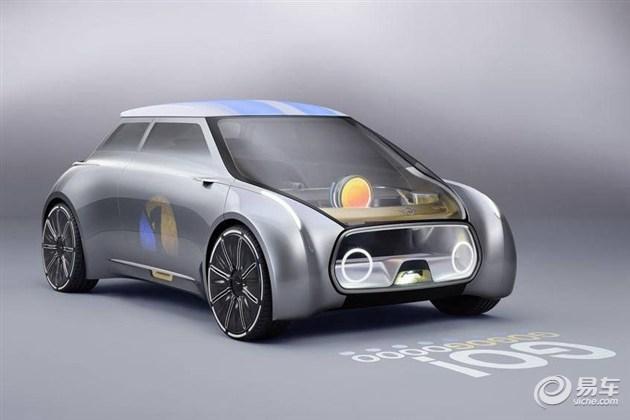 MINI全新概念车发布  未来出行小伙伴