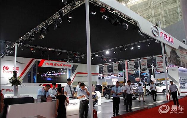 七座大型SUV传祺GS8哈尔滨国际车展亮相