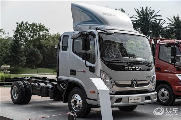 福田奥铃cts正式发布 配2.8t柴油发动机