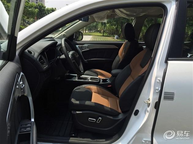 配ESP 试驾吉利远景SUV 1.3T高清图片