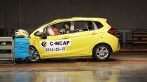C-NCAP碰撞测试 广汽本田新飞度获五星